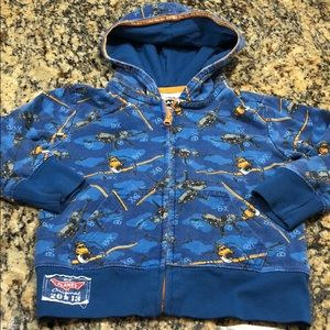 Disney Planes boys size 3 T zip hoody